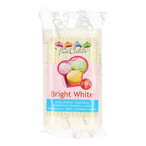 Bright White  FunCakes Sugar Paste  250g