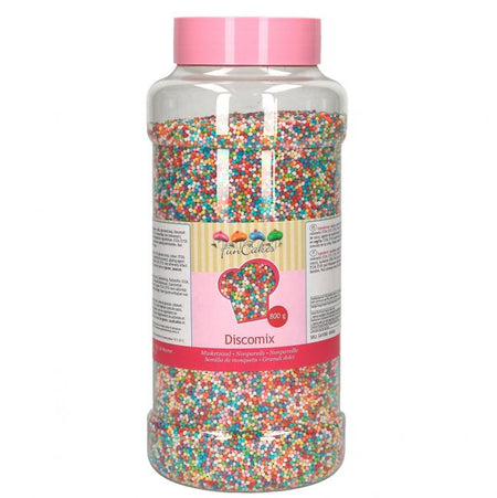 FunCakes Soft Pearls Blue White Bulk Sprinkles 500g