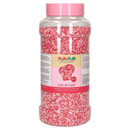 FunCakes Lots of Love Bulk Sprinkles 800g