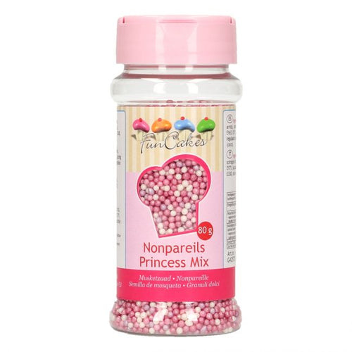 FunCakes Nonpareils 80g Princess Mix