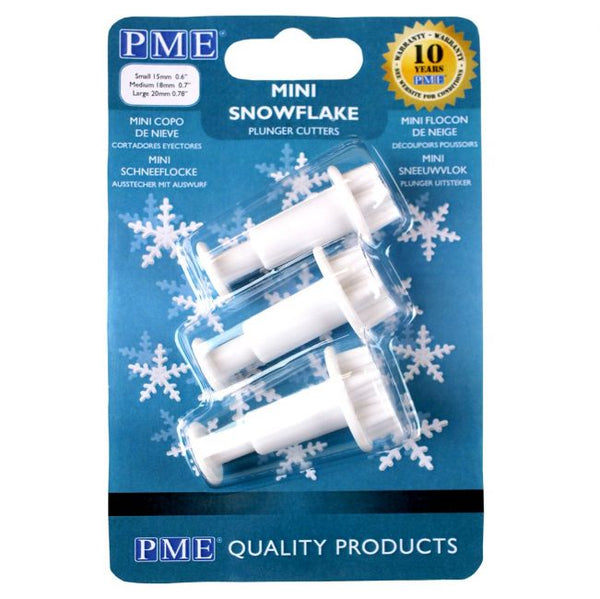 PME Mini Snowflake Plunger Cutter