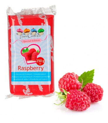FunCakes Flavoured Sugar Paste Raspberry  250g