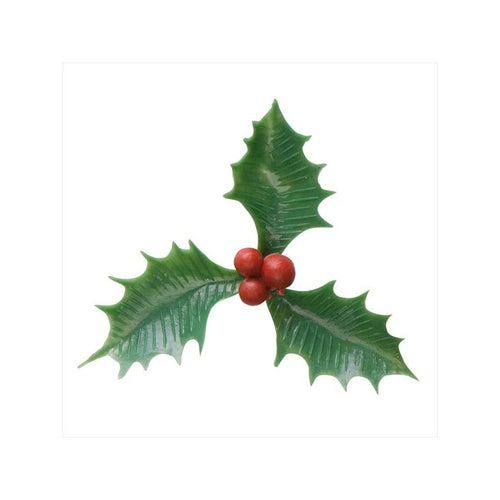 Green Plastic Holly