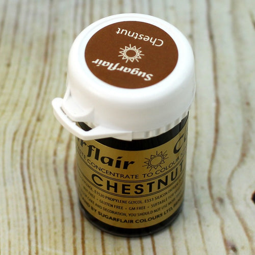 Chestnut SugarFlair Gel paste