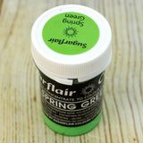 Spring Green SugarFlair Gel paste