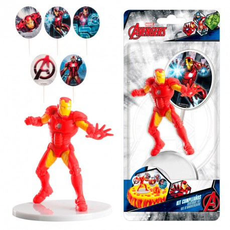 Cake Kit  Avengers Ironman