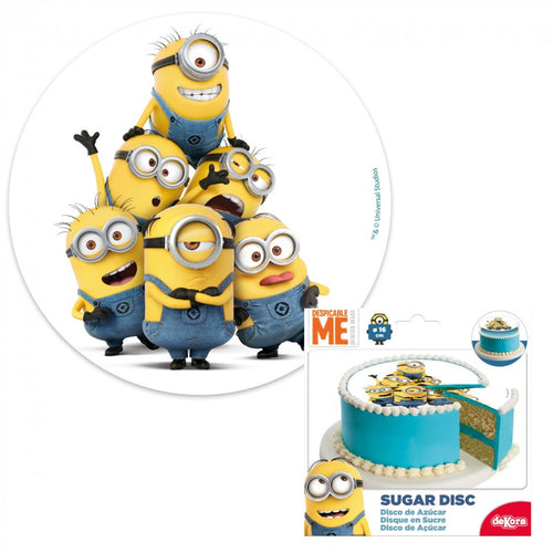 Dekora Dispicable Me Minion Edible Disc 16cm