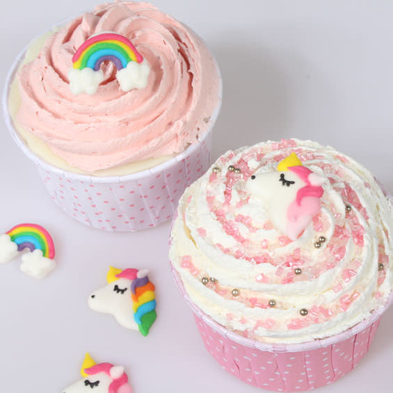Culpitt Sugar Decoration 12 Unicorn & Rainbow