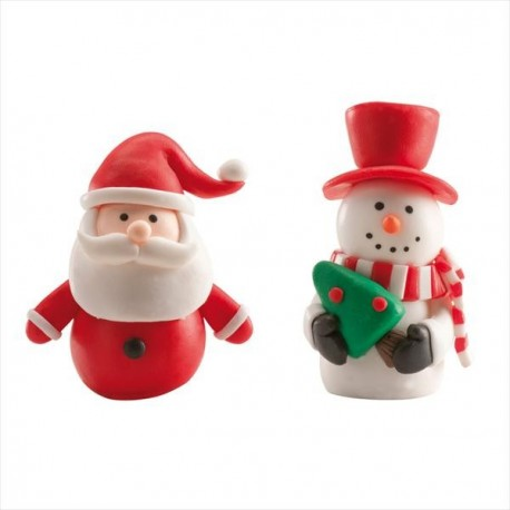 Dekora Claydough Christmas Toppers