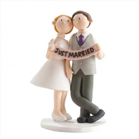 Wedding Couple Ornament Just Married