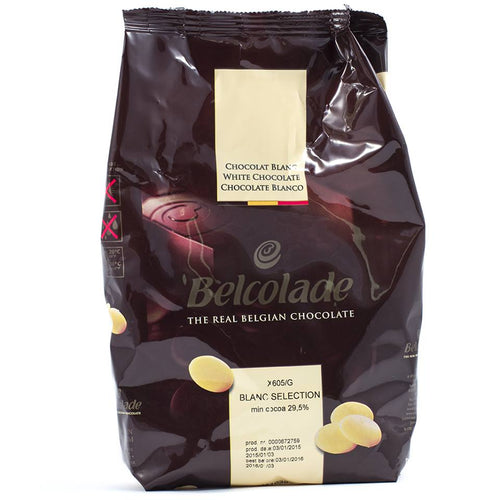 Belcolade White Chocolate 1kg