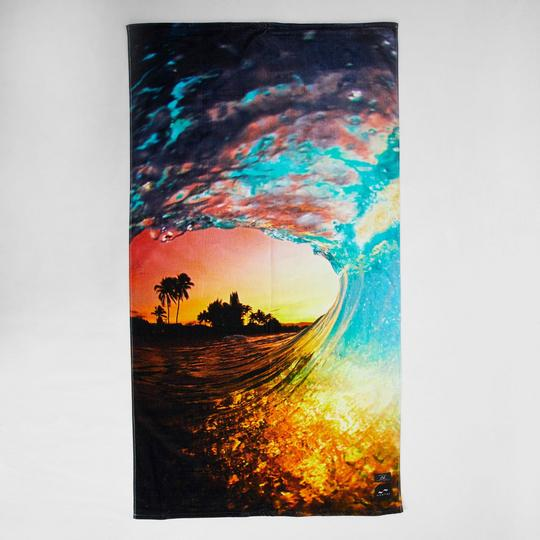 Rainbow Shaved Beach Towel