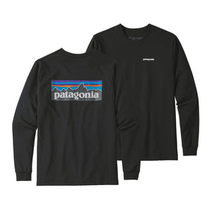 Long-Sleeved P-6 Logo Responsibili-Tee - Black
