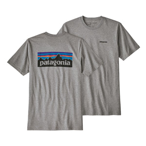 Patagonia Men's P-6 Logo Responsibili-Tee - Gravel Heather