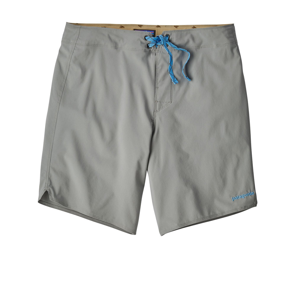 Light And Variable Board Shorts - 18 In. - Feather Grey