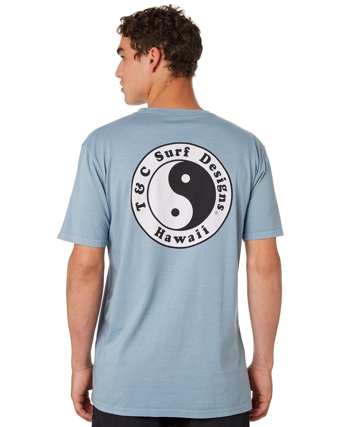 OG Logo T-Shirt Dusty Blue