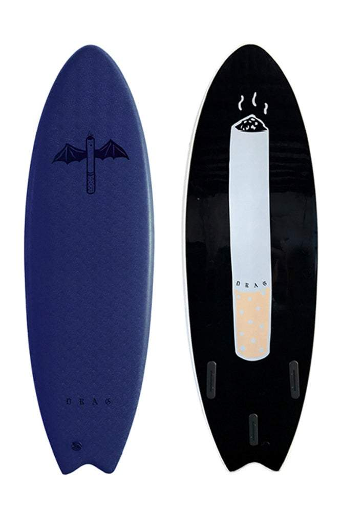 DART 5'6 Thruster With Huge Dart Slick