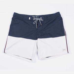 Trim Trunk - Navy/White