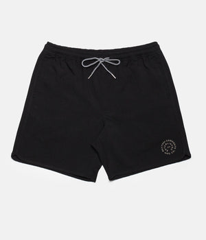 Black Label Beach Short - Black