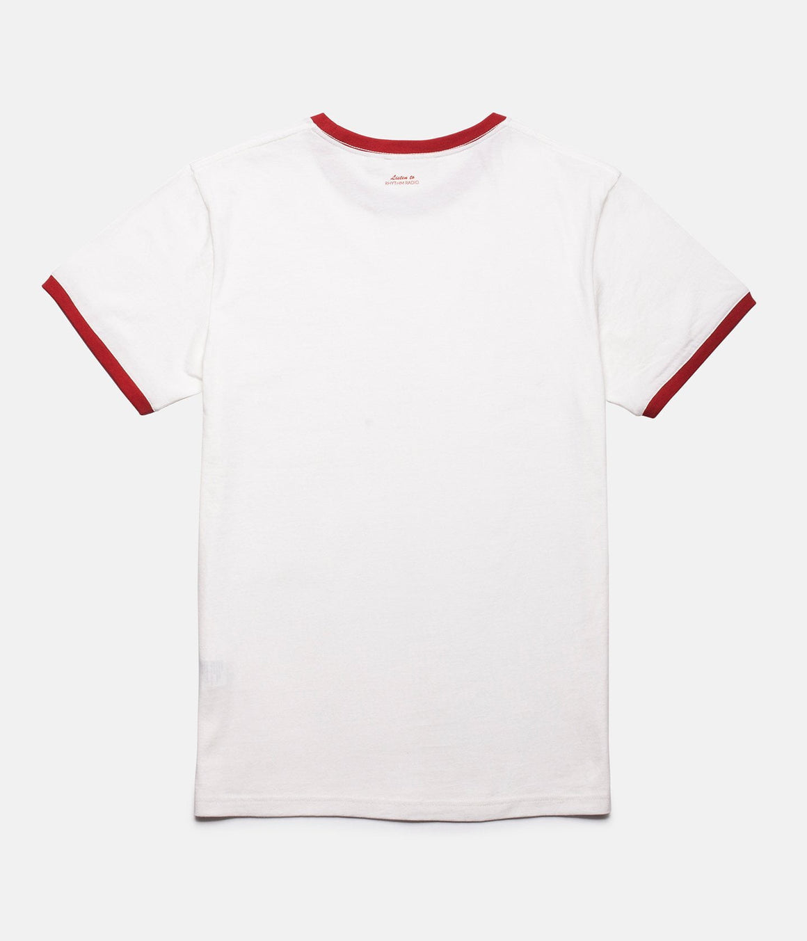Ringer T Shirt - White / Red