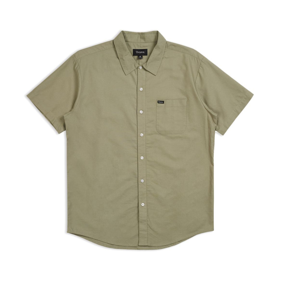CHARTER OXFORD S/S WOVEN - Sage