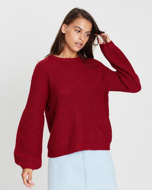 Red Rodas Sweater