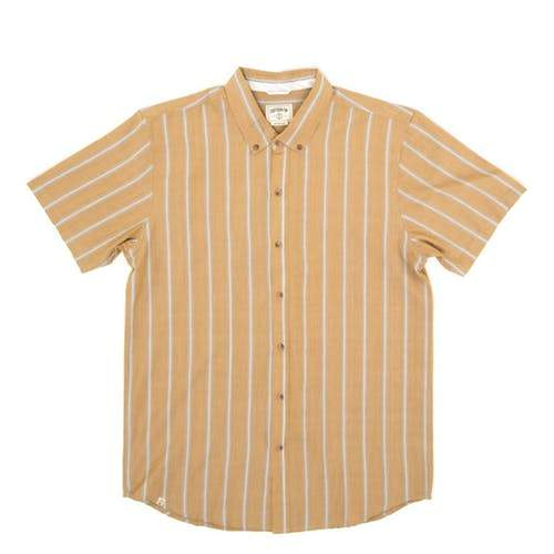 Colonel Mustard Woven Tee