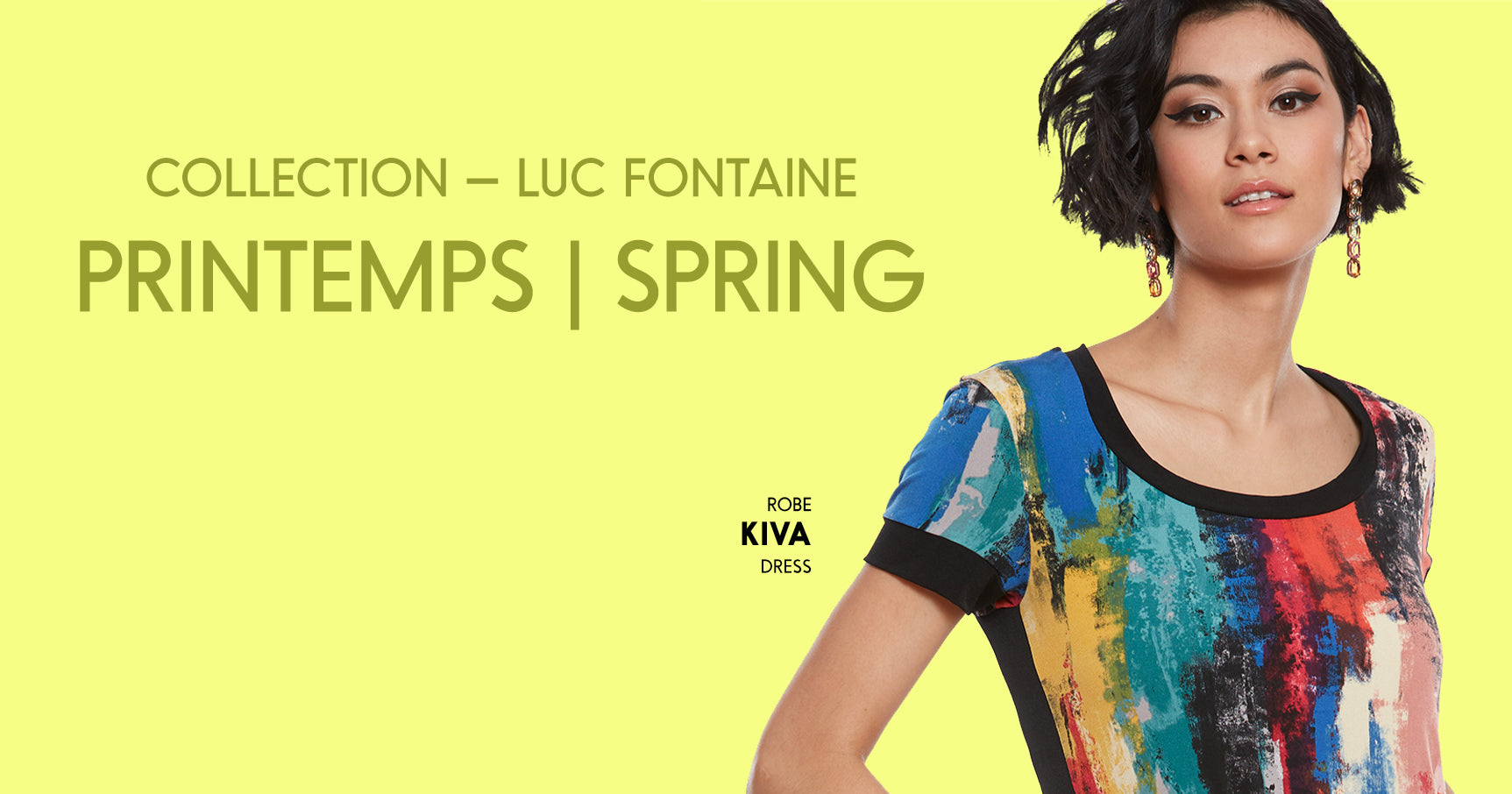 Collection Luc Fontaine | Spring - printemps