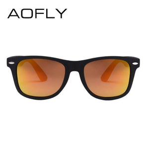 AOFLY Fashion Sunglasses Men Polarized Sunglasses UV400