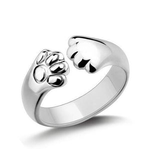 Cute Cat Paw Ring! Looks amazing. - Venturi.Store