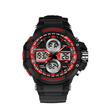 7 Color Backlights Sport Watch Men Chronograph Military Watch Waterproof Clock - Venturi.Store