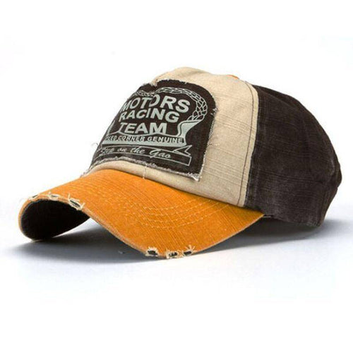 New Unisex Baseball Cap Cotton Motorcycle Cap Edge Grinding Do Old Hat - Venturi.Store