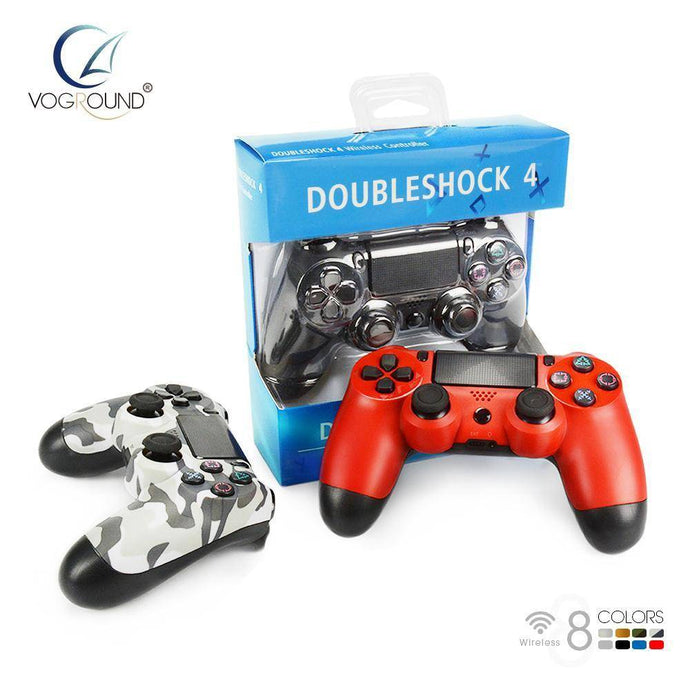 Bluetooth Wireless Gamepad Controller For Sony PS4 Vibration Game Controller For PlayStation 4 - VOGROUND Version 5.50