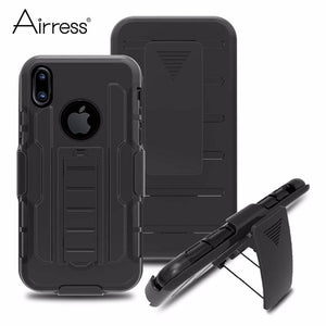 Defender case cover for iPhone X Military Grade Heavy Duty Rugged