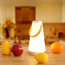 Creative Lovely Portable Wireless LED Home Night Light Table Lamp USB Rechargeable Touch Switch Outdoor Camping Emergency Light