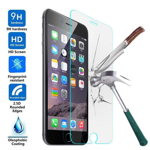 Tempered Glass Protector For iPhone Series of SmartPhones 2018