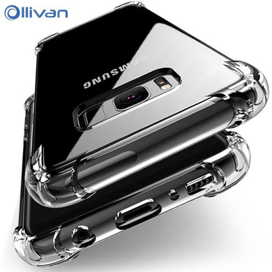Shockproof Silicone Case Samsung Galaxy S6 S7 edge A3 A5 A7 J3 J5 J7  S8 S9 Plus Note 8 9 A6 A8 Plus A7
