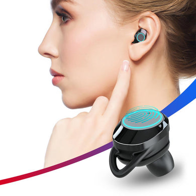 X8 Touch Control TWS Bluetooth 5.0 Earphone  Wireless Waterproof Earbuds with Microphone IPX7