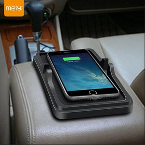 Wireless Slip Mat Chargers with Phone Holder for Cars