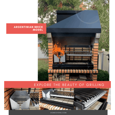 Argentinian Brick  Grill - Spring 2020 - Dome Ovens®
