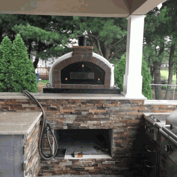 Large Cast Iron Glass Pizza Door - Dome Ovens®