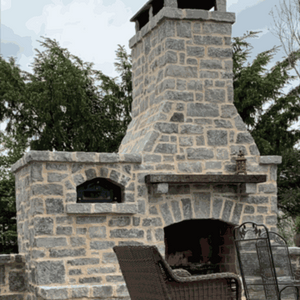 Pizza Oven Steel Glass  Door - Dome Ovens®