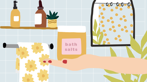 Bath Time Bliss: DIY Bath Salts