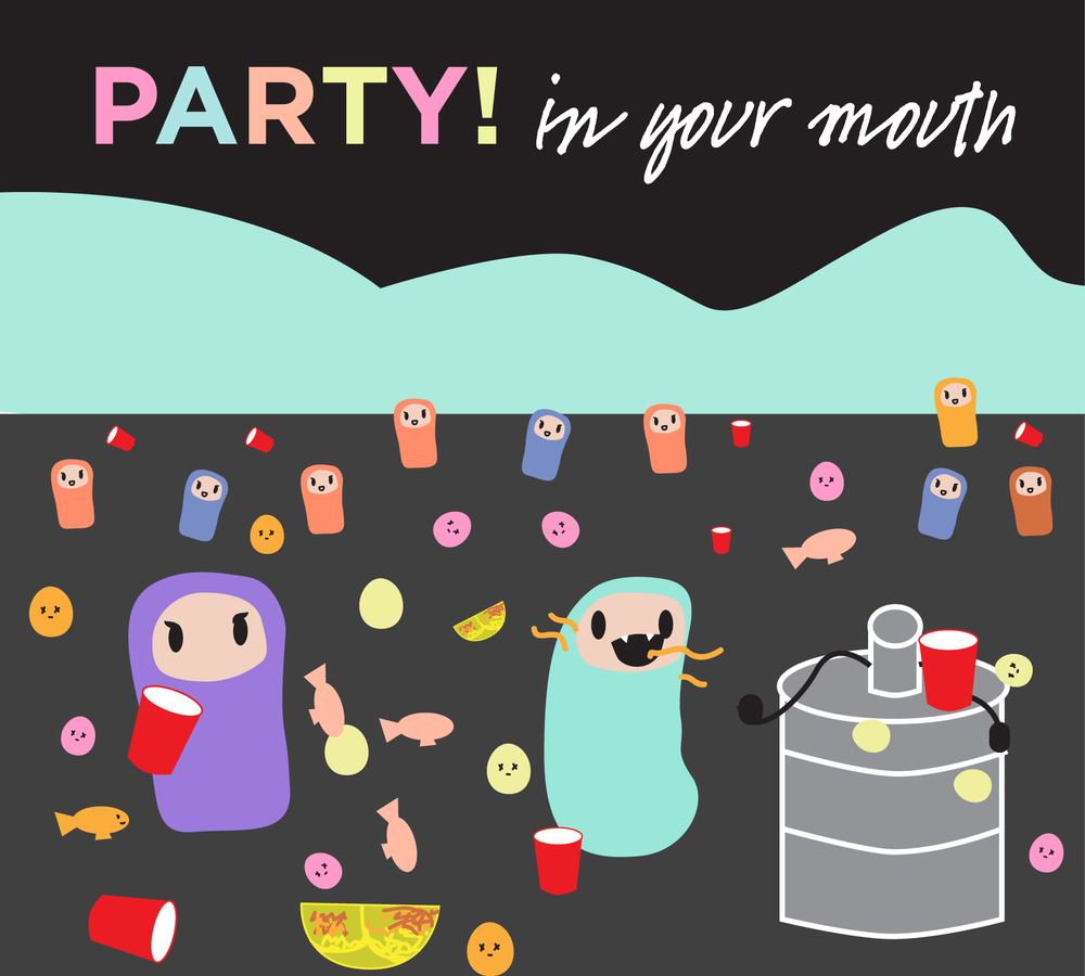 Gram negative bacteria – the stinkers –  love alcohol. Here's why: 1. Alcohol dehydrates you 2. Salivary flow decreases 3. Acidity in your mouth increases 4. Stinkers party and multiply.
