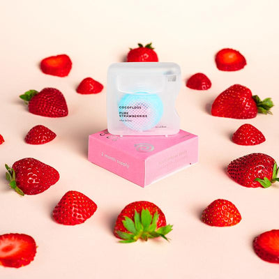 Pure Strawberry Dental Floss