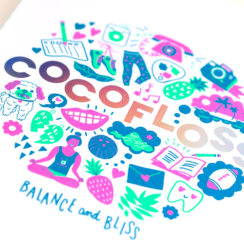 Cocofloss Balance & Bliss Journal