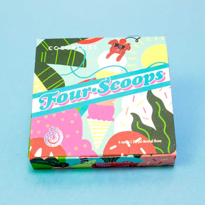 Cocofloss 4-Scoop Sets