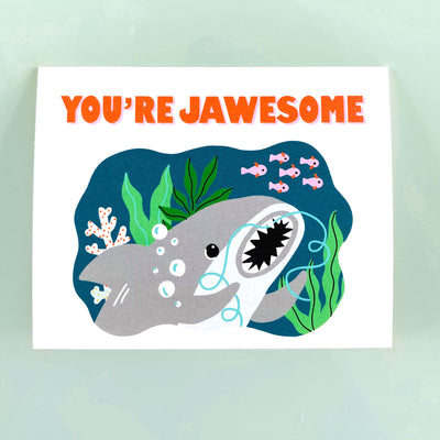 Jawesome Card