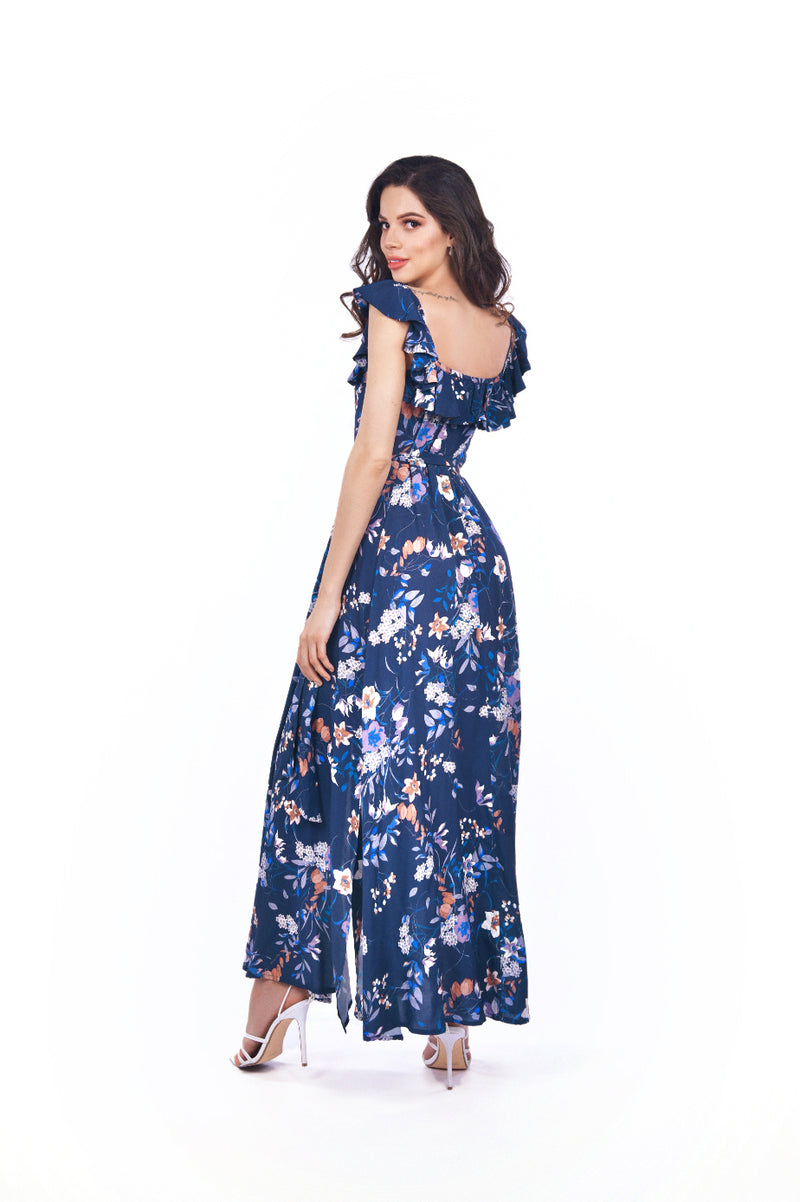 Ana Dress Navy