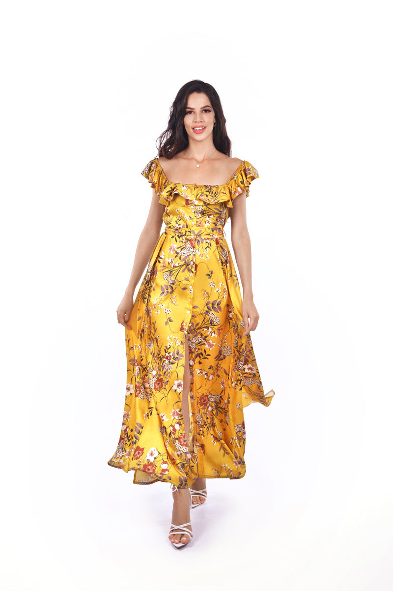 Ana Dress Yellow